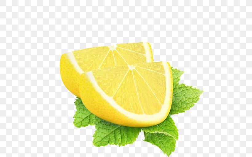 Lemon-lime Drink Key Lime Sweet Lemon, PNG, 512x512px, Lemon, Citric Acid, Citron, Citrus, Finger Lime Download Free