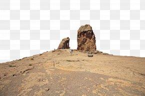 Bedrock Ancient History - Rock Historic Site Ruins Landscape Soil PNG
