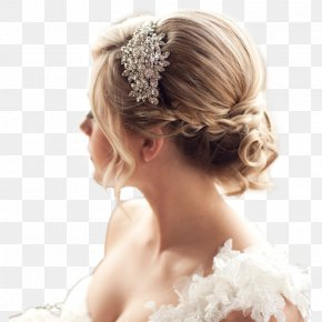 Bun - Bun Long Hair Hairstyle Bride PNG