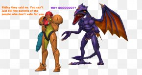 Super Smash Bros. For Nintendo 3ds And Wii U - Super Smash Bros. For Nintendo 3DS And Wii U Metroid: Samus Returns Ridley PNG