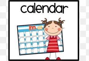 Helper Cliparts - Calendar Child Clip Art PNG