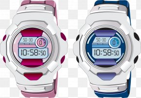 Couple Sports Watches - Fashion Accessory Euclidean Vector Icon PNG
