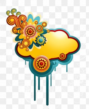 Vector Illustration Colorful Cloud - Cloud Computing Euclidean Vector PNG