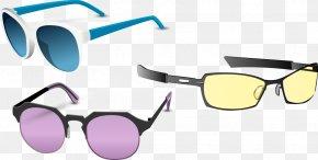 Vector Glasses - Goggles Sunglasses PNG