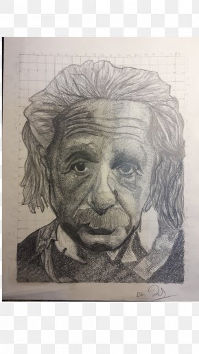 Einstein - Self-portrait Drawing Visual Arts PNG