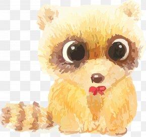 Vector Cartoon Animal Cute Little Raccoon - Nankai District Raccoon CSS3 Hot Water Dispenser Apartment PNG