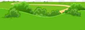 Grass Trail Ground Transparent Image - Picture Frame Clip Art PNG