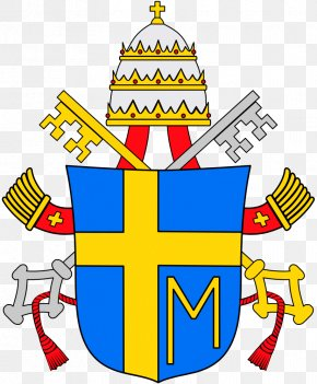 Pope Francis - Pope Papal Coats Of Arms Coat Of Arms Marian Cross Papal Tiara PNG