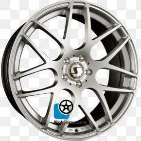 Silver - Alloy Wheel Autofelge Silver Spoke Hubcap PNG