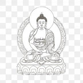 Hand-painted Buddha - Buddhahood Buddharupa Buddhism Mandala Illustration PNG