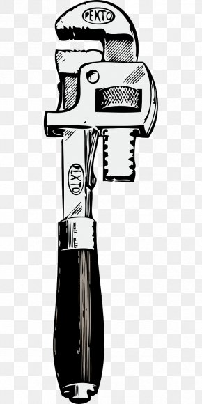 Removable Wrench - Pipe Wrench Plumbing Clip Art PNG