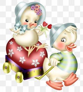 Cartoon Chick - Easter Bunny Chicken Clip Art PNG