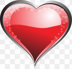 Pink Heart - Love Heart Desktop Wallpaper PNG