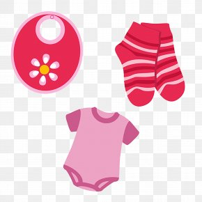 Baby Clothes - Diaper Infant Pacifier PNG