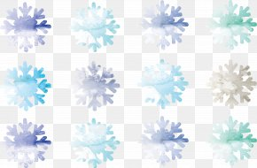 Drawing Snowflake - Watercolor Painting Snowflake Drawing PNG