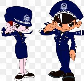 Police Salute - Municipal Police Public Security Law Enforcement PNG
