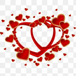 Happy Valentines Day - Heart Euclidean Vector Clip Art PNG