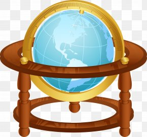 Vector Hand-painted Globe - Maritime Transport Clip Art PNG