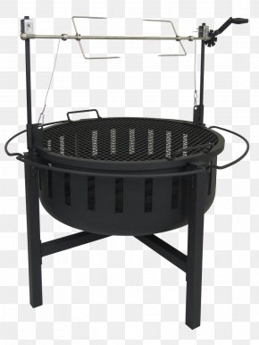 Grill - Barbecue Fire Pit Rotisserie Fireplace PNG