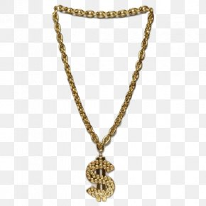 Thug Life Gold Chain Transparent - Chain Necklace Bling-bling Jewellery Amazon.com PNG