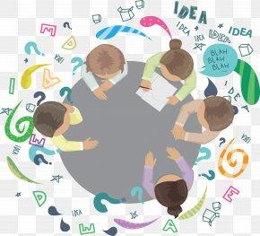 Brainstorming Members. - Brainstorming Creativity Arrow PNG