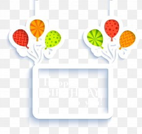 Happy Birthday Tag - Happy Birthday To You Clip Art PNG