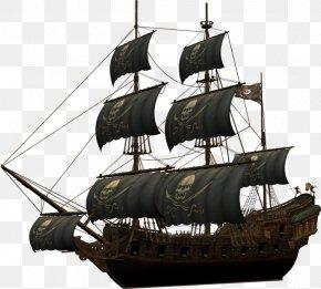 Ghost Ship - Ship Piracy Brig Navio Pirata PNG