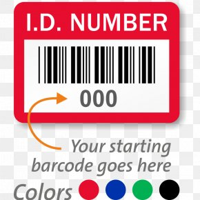 Identification Labels - Label Asset Tracking Sticker Barcode PNG