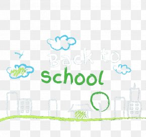 Back To School Chalk - School Illustration PNG