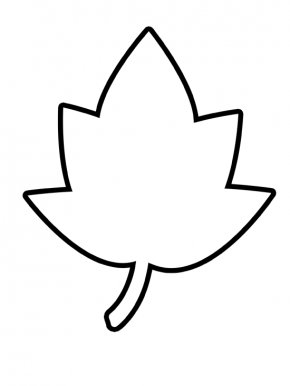 Leaf Clip Art - Autumn Leaf Color Outline Maple Leaf Clip Art PNG