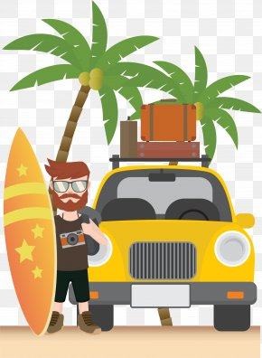 Summer Seaside Vacation PNG