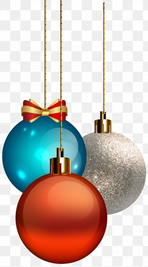 Christmas Balls Transparent Clip Art - Christmas Ornament Clip Art PNG
