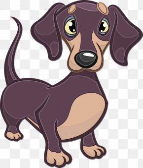 Companion Dog Puppy - Dog Dog Breed Dachshund Cartoon Puppy PNG