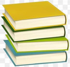 Pile Of Books Clip Art Image - School Clip Art PNG