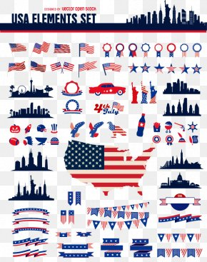 US Vector Elements - United States PNG