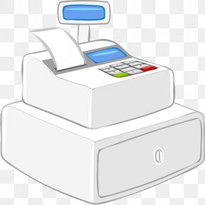 Cashier Cliparts Nice - Cash Register Free Content Clip Art PNG