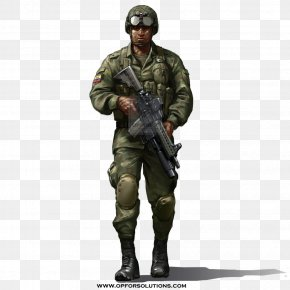 Army - Soldier Army Infantry Military Uniform PNG
