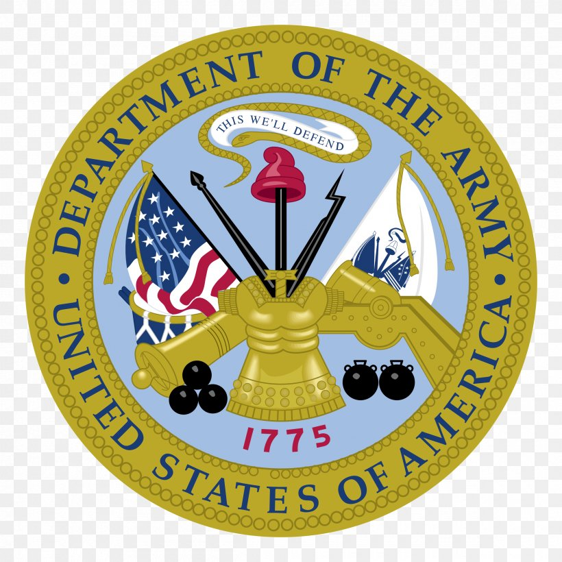 United States Department Of The Army Vector Graphics United States Army United States Department Of Defense, PNG, 2400x2400px, United States, Army, Army National Guard, Badge, Emblem Download Free