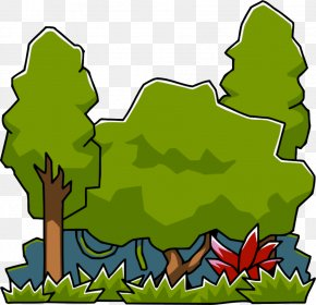 Jungle File - Scribblenauts Amazon Rainforest Jungle Clip Art PNG