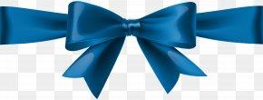 Blue Bow Transparent Clip Art - Blue Clip Art PNG