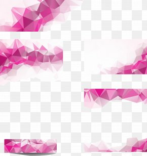 Colorful Polygonal Geometry Background - Geometry Polygon Triangle Shading PNG