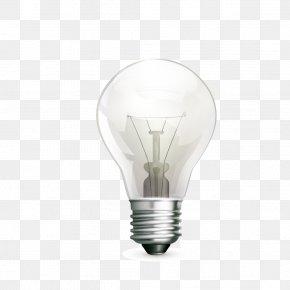 Light Bulb - Incandescent Light Bulb Electricity Electric Light PNG