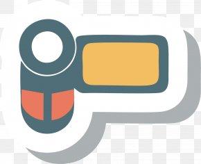 Cartoon Camera Icon - Drawing Video Camera Icon PNG