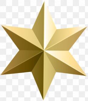 Gold Stars - Gold Star Desktop Wallpaper Clip Art PNG