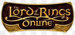 Lord Of The Rings Logo - The Lord Of The Rings Online Font Logo PNG