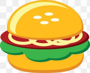 Fast-food Burger - Hamburger Fast Food Chicken Sandwich Clip Art PNG