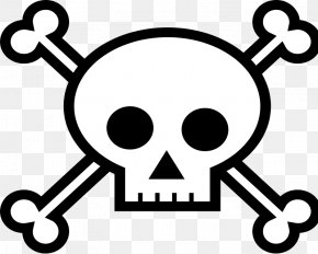 Free Vector Clipart - Skull And Crossbones Skull And Bones Clip Art PNG