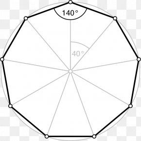 Polygon - Regular Polygon Icosagon Decagon Internal Angle PNG