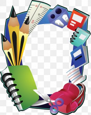 School - Borders And Frames School Education Clip Art PNG