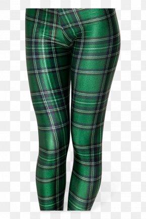 Punk Rock - Leggings Pants Tartan Fashion Clothing PNG
